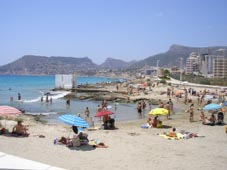 One of Calpe's Beaches - Costa Blanca